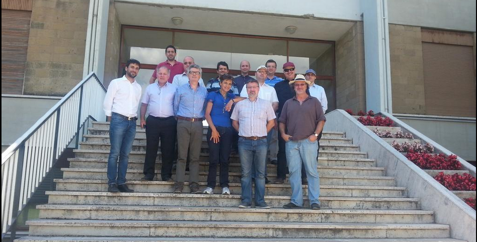 FruitFlyNet's Consortium team photo after the 1st Consortium Meeting